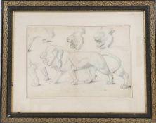 Dessin original attribué à Auguste Trémont (1892-1980)Célébre peintre, sculpteur et médailler