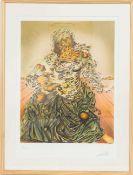 """Triumphant Madonna"" Salvador Dali (1904-1989)Artiste peintre espagnol, l'un des principaux"