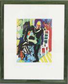 Jean Fetz (né en 1957)Artiste peintre luxembourgeois, membre du CALLithographie polychrome
