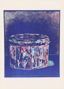Piero Manai (1951-1988)Artiste peintre italienLithographie polychrome.Signé en bas au milieu.