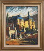 Jos Steil (né en 1940)Artiste peintre autodidacte luxembourgeois, membre du cercle artistique de