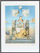 """""""Vierge à l'enfant"""" de Salvador Dali (1904-1989)Artiste peintre espagnol, l'un des principaux"""
