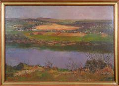 Jos Sunnen (1894-1969)Artiste peintre luxembourgeois, membre du CALHuile sur isorel encadrée,