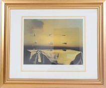 """""""Morphological Echo"""" de Salvador Dali (1904-1989)Artiste peintre espagnol, l'un des principaux"""