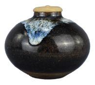 A Very Rare Japanese 19th Century Stoneware Jar Signed Sakurai no Sato