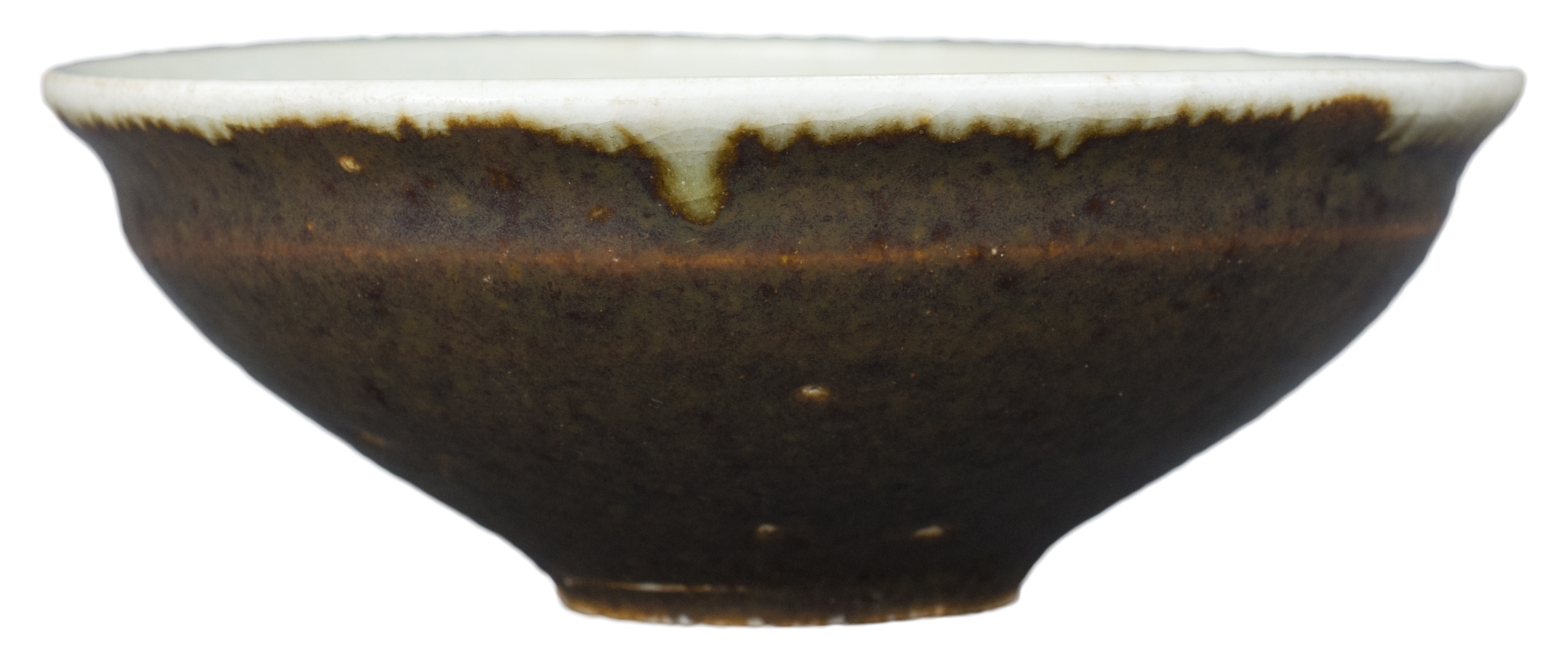 Lot 20 - A Rare Chinese Glazed Porcelain Tea Bowl – Song Dynasty or Later
