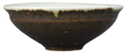 A Rare Chinese Glazed Porcelain Tea Bowl – Song Dynasty or Later