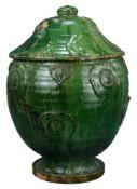 A Large Chinese Song / Yuan Dynasty Glazed Buddhist Jar