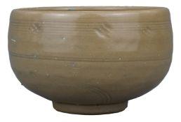 "A Chinese Longquan ""Golden"" Celadon Porcelain Alms Bowl – Song / Yuan Dynasty"