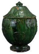 A Fine Large Chinese Song / Yuan Dynasty Glazed Buddhist Jar