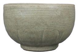 A Chinese Longquan Celadon Porcelain Alms Bowl – Song / Yuan Dynasty