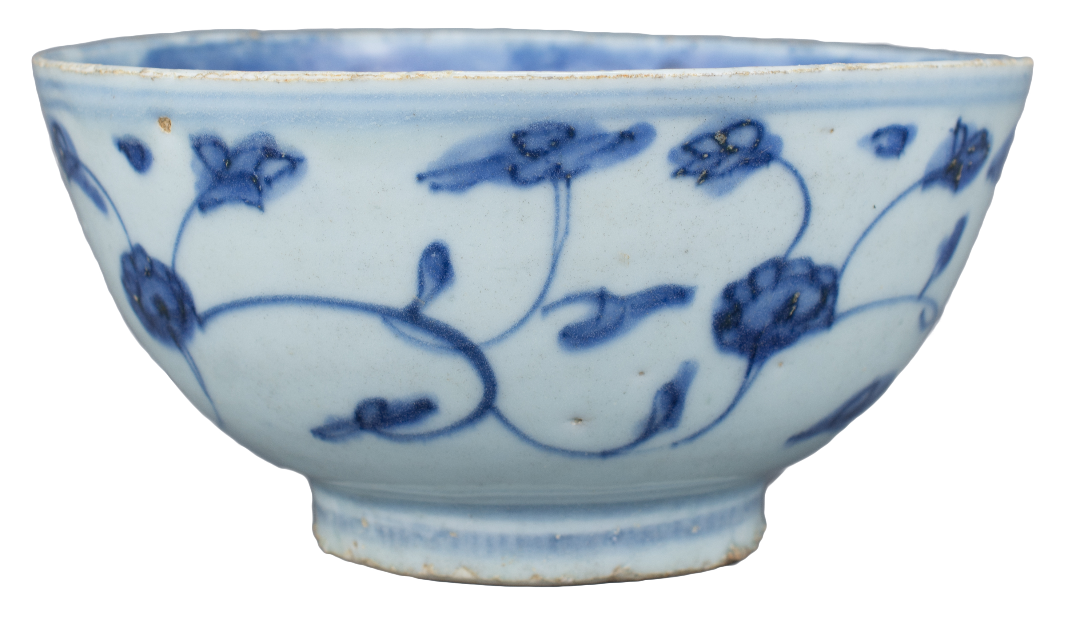 Lot 8 - A Fine Chinese Ming Dynasty Blue & White Porcelain Bowl – Jiajing reign