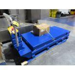 2020 Portable 4000 lb Electric Lift Table Model PST-3664-4-60, S/N S1860279, 4,000 lb Cap