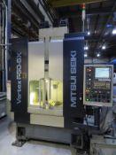 2006 Mitsui Seiki Vertex 550-5X CNC VMC