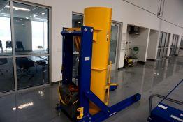 Barrel Lift 1000 LBS Cap Electric Barrel Tilt m/n HDD-60-10P s/n S1574258