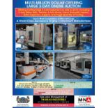 Multi-Million Dollar Offering Large 3-Day Online Auction