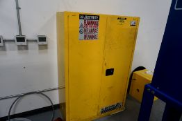 Just Right Flammable Storage Cabinet 45 Gallons Cap.