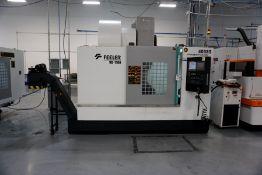 2018, Feeler VB1100 Vertical Machining Center, Fanuc Series Oi-MF Control, *4th Axis Ready*