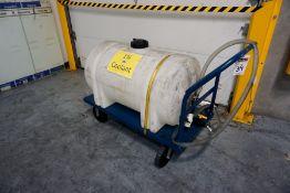 Coolant Storage Tank W/ Cart