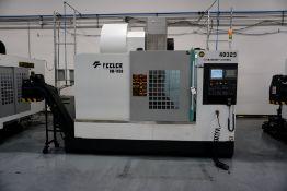 2017, Feeler VB1100 Vertical Machining Center, Fanuc Series Oi-MF Control, *4th Axis Ready*