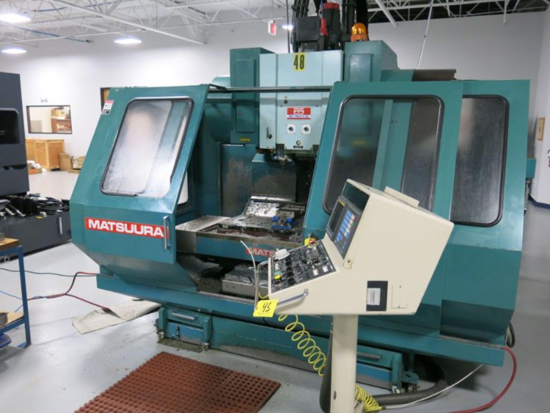 1991 Matsuura MC-760VX-DC Twin Spindle CNC VMC - Image 2 of 5