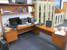 (4) Desks Including: