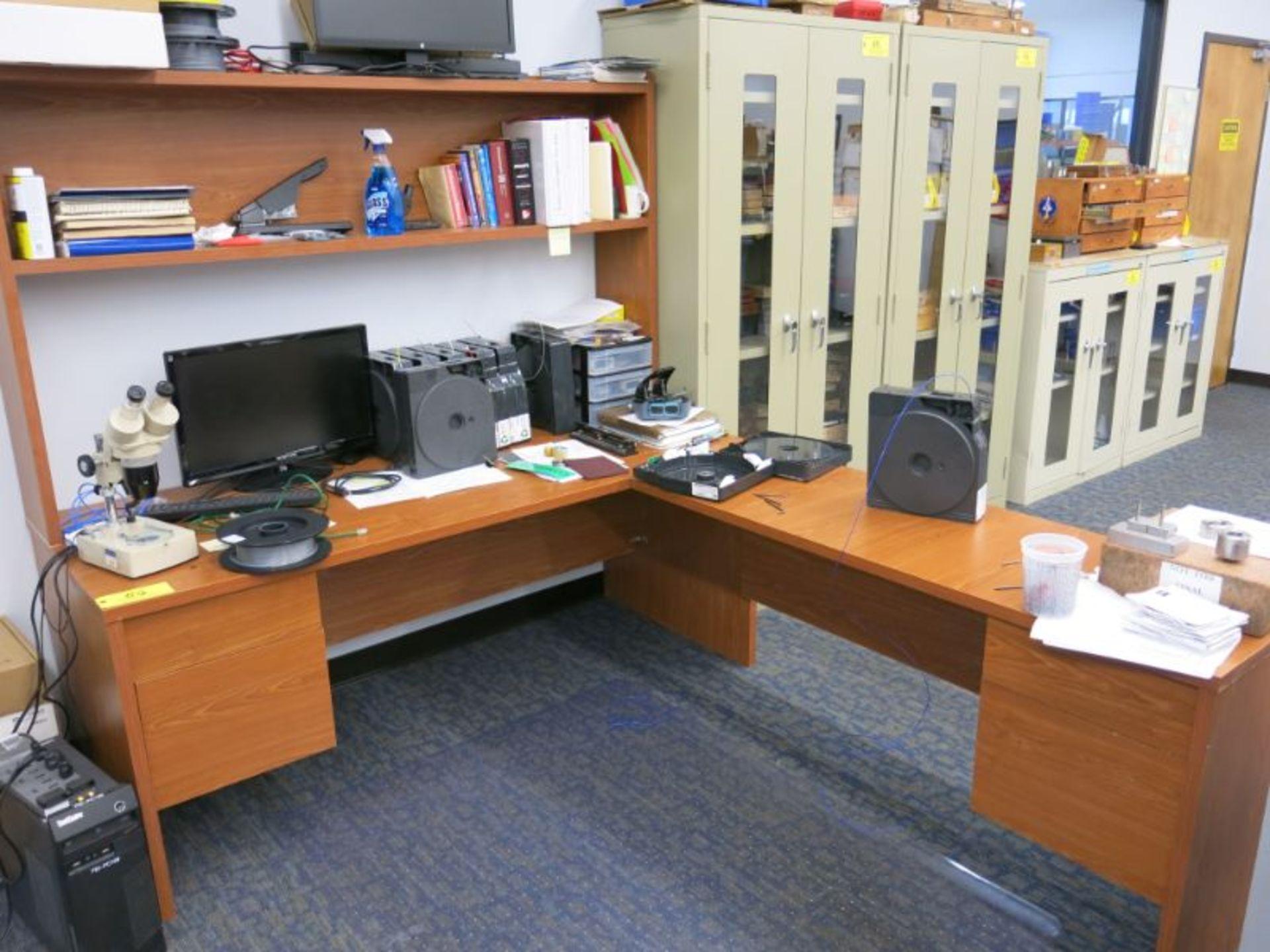 (4) Desks Including: