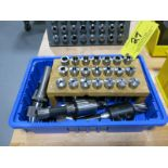 Lot of R-8 Collets & R-8 Tool Holders