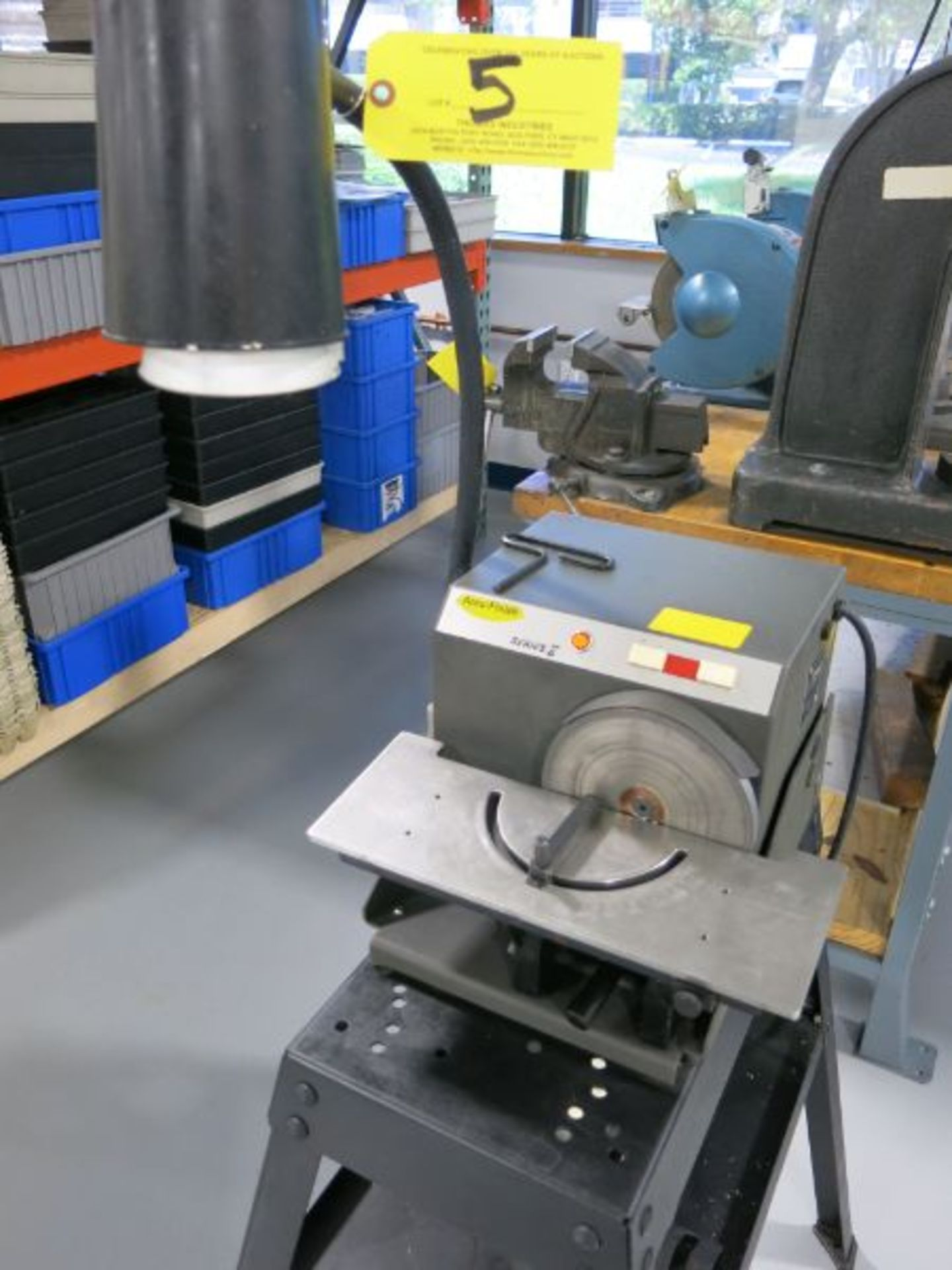 Accu-Finish Series-2 Carbide Grinder with Spare Carbide Discs and Stand
