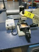 Mitutoyo TM Machinist Microscope with Mitutoyo Digital Slide Readouts
