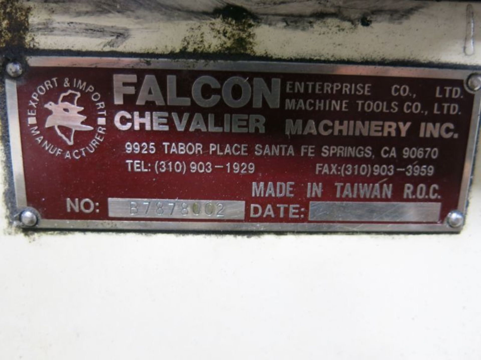 1998 Chevalier/Falcon Surface Grinder - Image 4 of 4