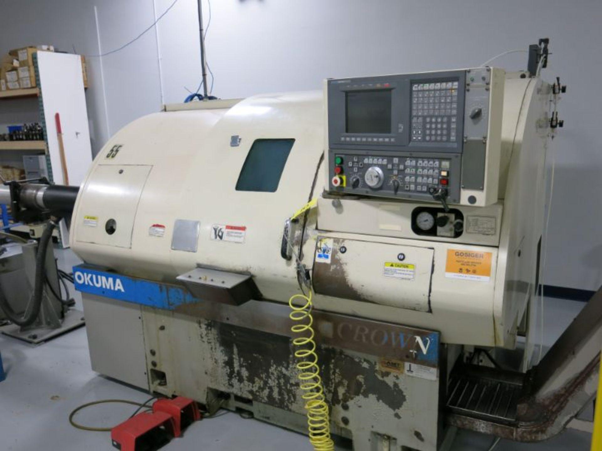 1998 Okuma 762E Crown CNC Turning Center - Image 2 of 5