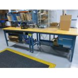 Work Benches & Desk Including: