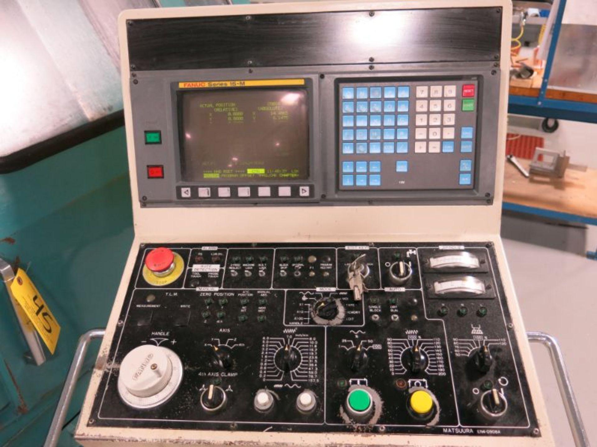1991 Matsuura MC-760VX-DC Twin Spindle CNC VMC - Image 4 of 5
