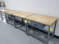 (4) Little Giant Work Benches Including: