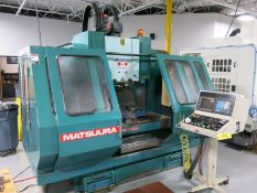 1991 Matsuura MC-760VX-DC Twin Spindle CNC VMC