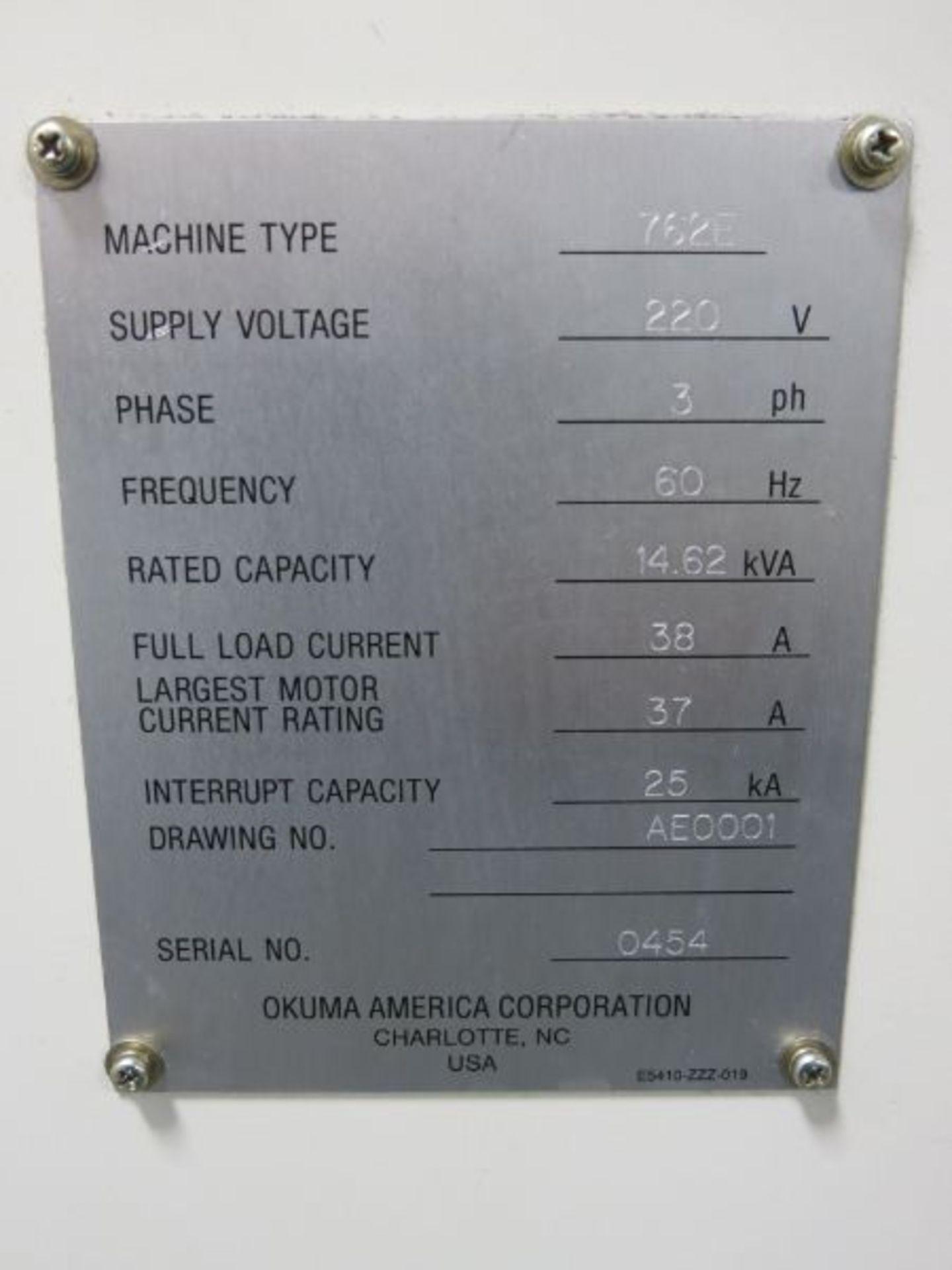 1998 Okuma 762E Crown CNC Turning Center - Image 5 of 5