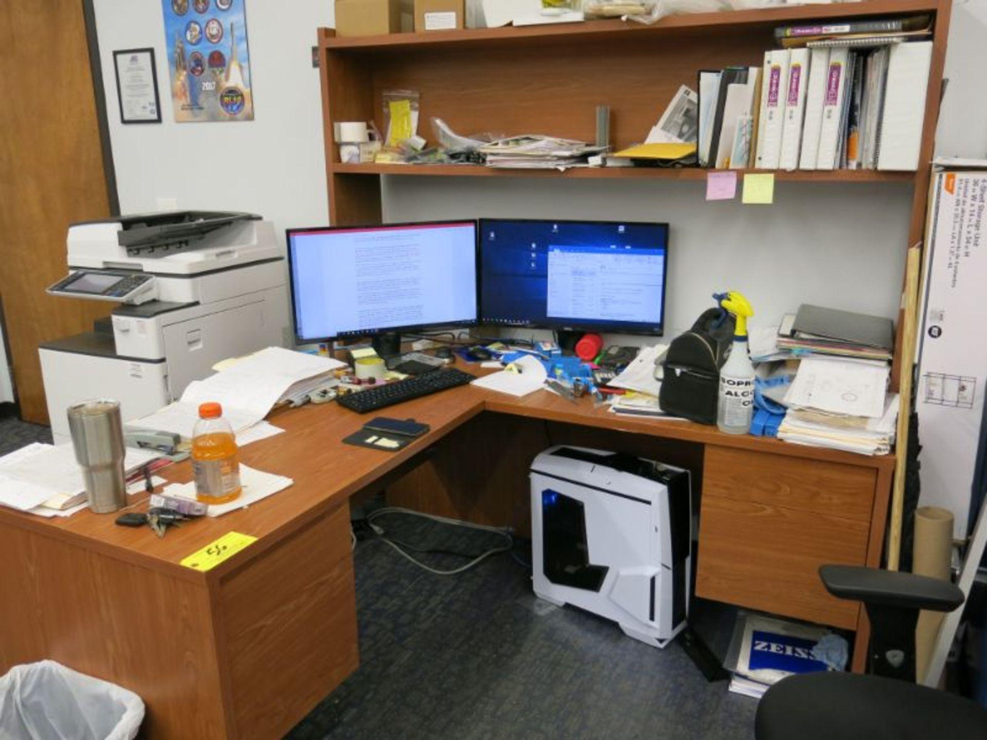 (4) Desks Including: - Image 2 of 3