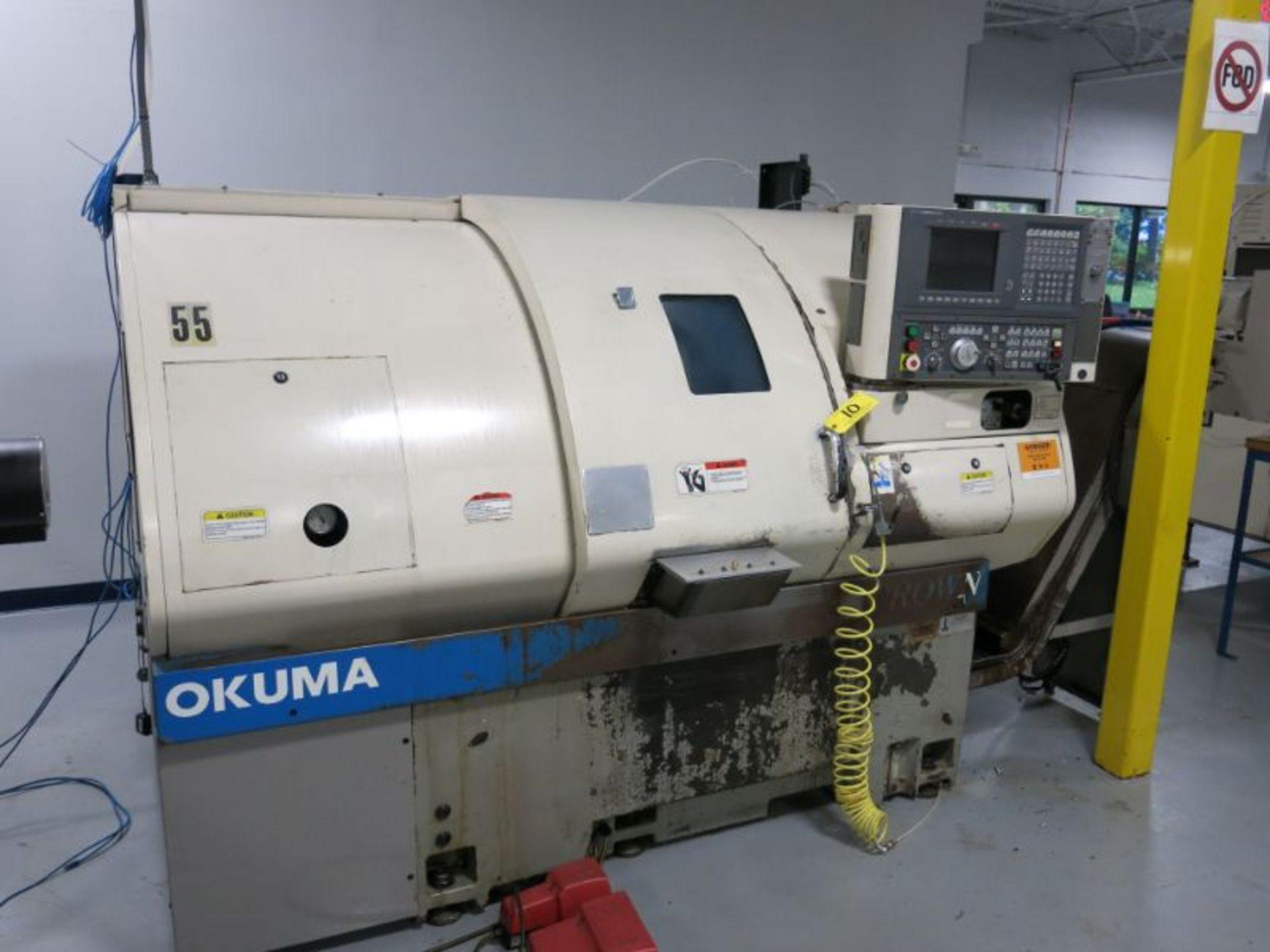 1998 Okuma 762E Crown CNC Turning Center