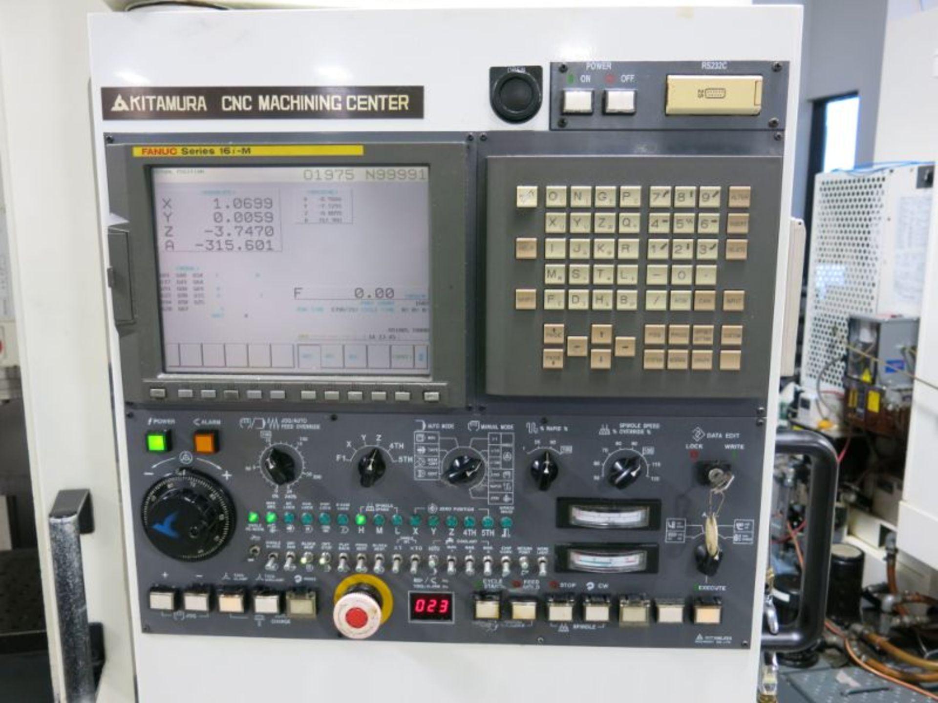 2001 Kitamura Mycenter 2XI CNC VMC - Image 4 of 5