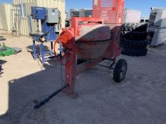Multiquip Cement mixing unit VIN: A1752003 Color: Red Honda Engine Powered