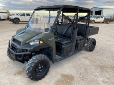 2018 Polaris 900XP VIN: 4XARVAD17J8559430 596 Hours Dump Bed 6 Seater Locat