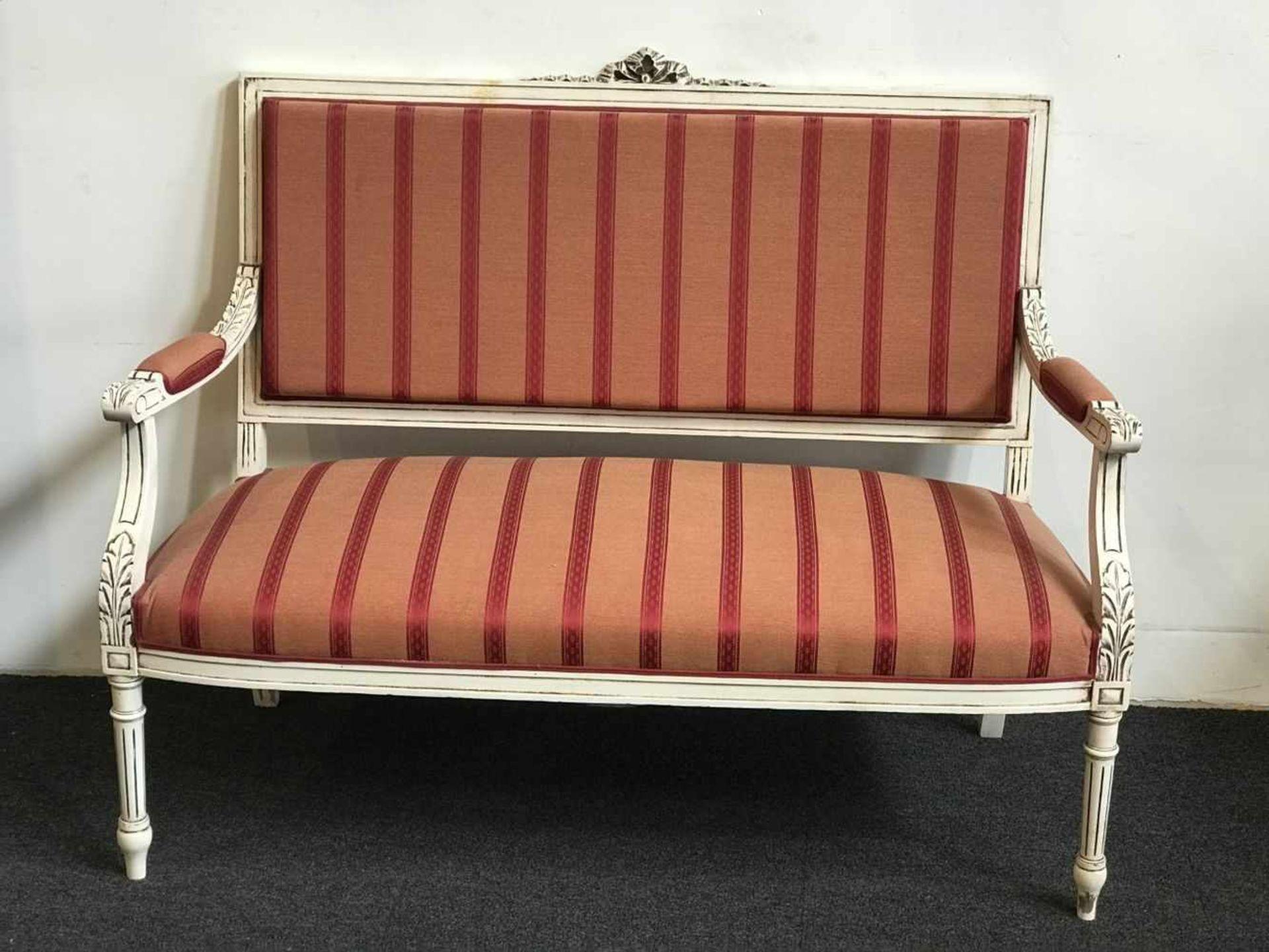 Louis XV salon two-seater and 2 single-seater - Bild 3 aus 3