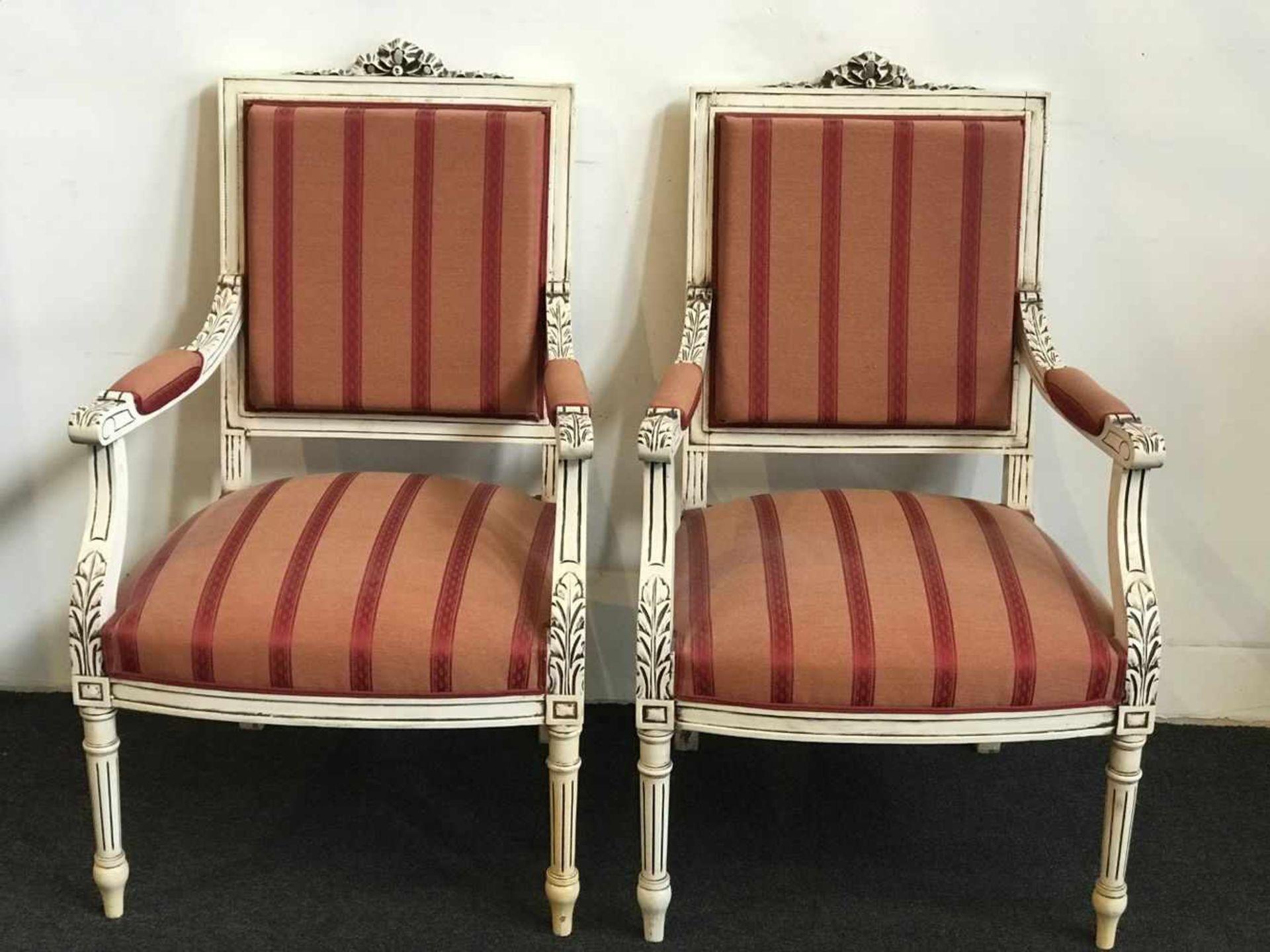 Louis XV salon two-seater and 2 single-seater - Bild 2 aus 3