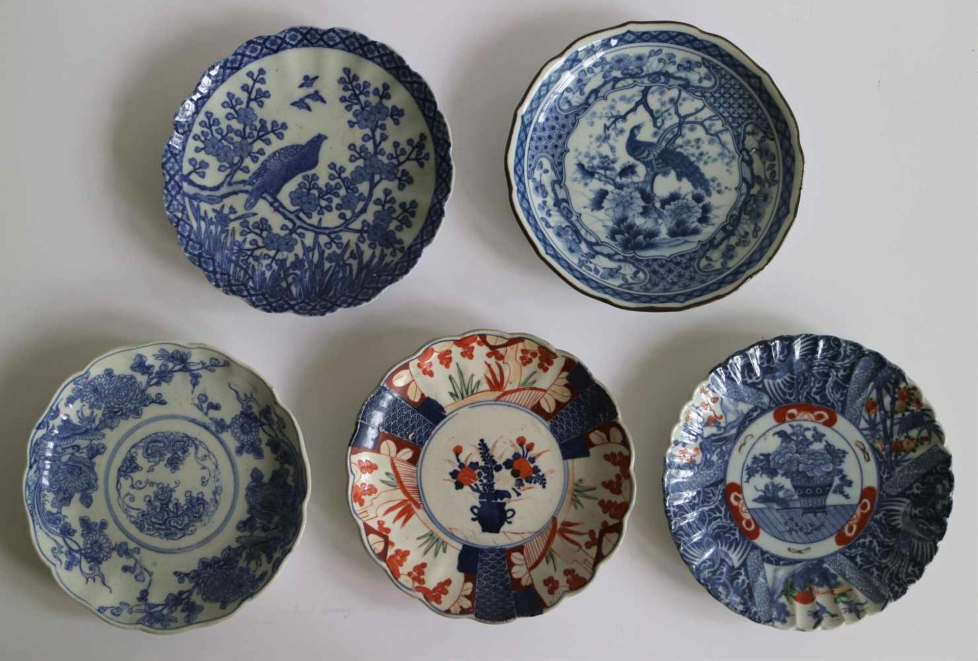 Los 96 - Chinese and Japan various items Dia 13,5 tot 32 en H 13 tot 59 cm
