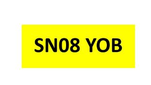 Registration on Retention - SN08 YOB