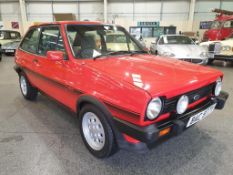 1982 Ford Fiesta XR2