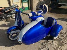 1960 Vespa 150 Scooter