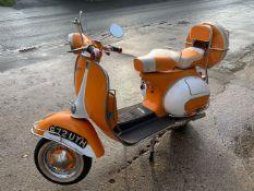 1962 Piaggio 150 Scooter