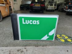 New Old Stock Lucas Double Sided Lightbox
